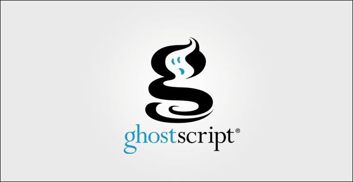 (RCE) vulnerability in Ghostscript